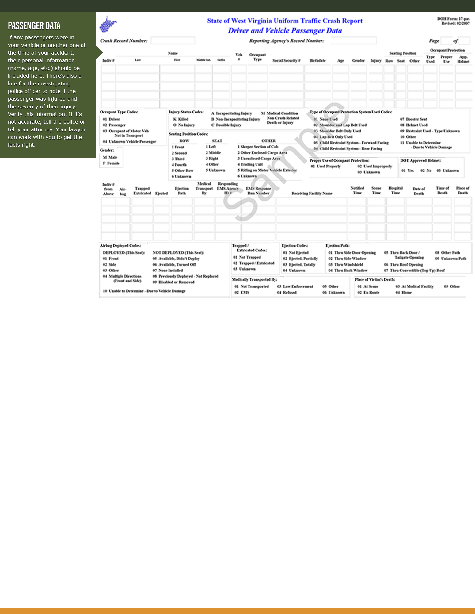 WV Accident Report Page 6